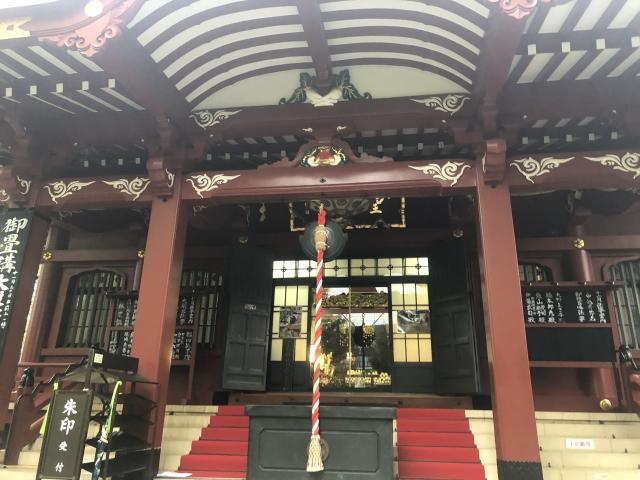 東京都待乳山聖天(本龍院)の本殿