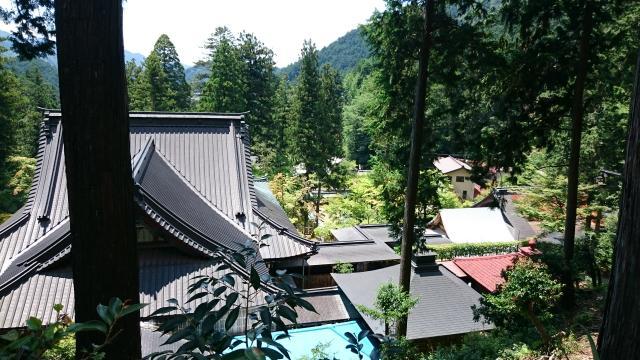 岐阜県華厳寺の景色