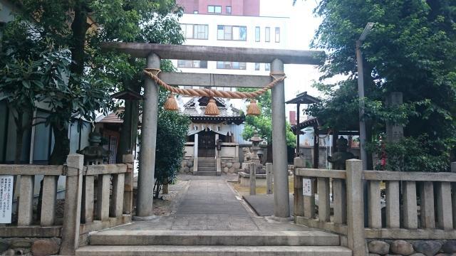 岐阜県縣神社の鳥居