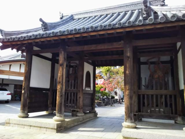 兵庫県福祥寺(須磨寺)の本殿