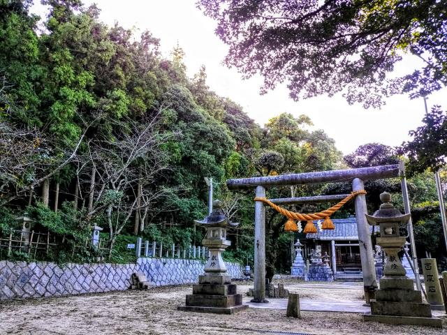 愛知県松尾神社(坂井松尾神社)の鳥居