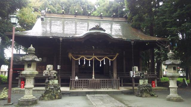 神奈川県三嶋神社の本殿
