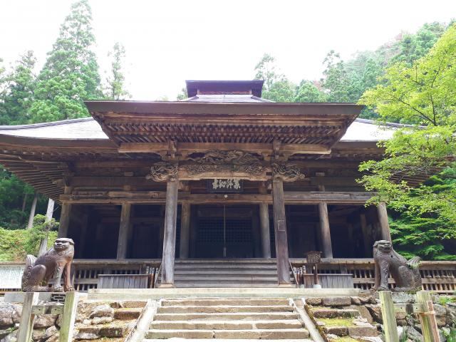 岩手県黒石寺の本殿
