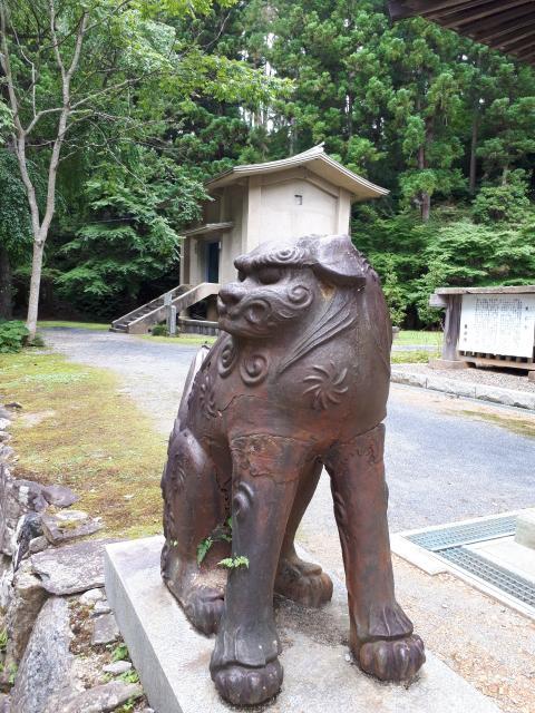 黒石寺の狛犬