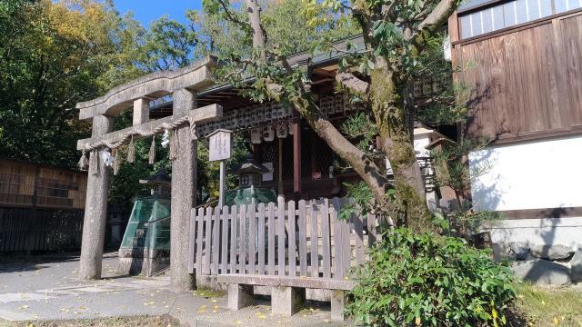 京都府厳島神社の鳥居