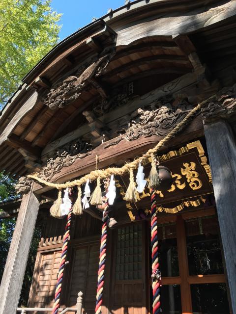 島穴神社の本殿