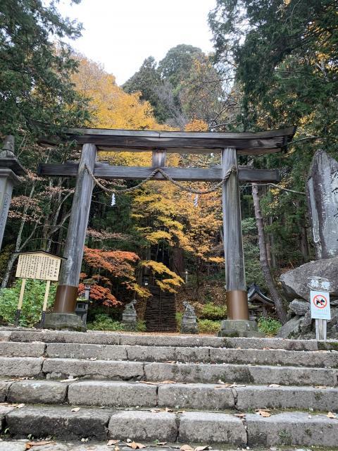 長野県戸隠神社宝光社の本殿