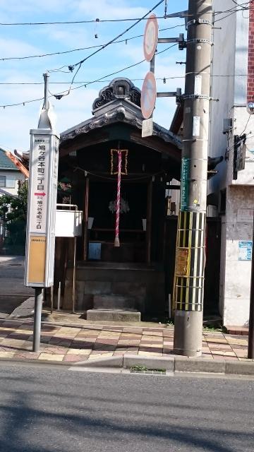 市神社の本殿