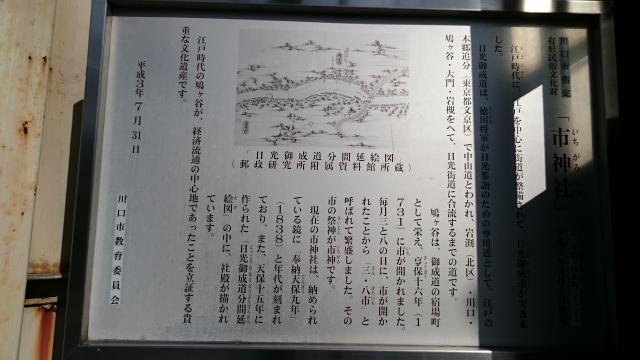 市神社の歴史
