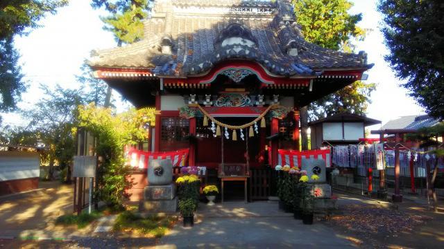 群馬県駒形神社の本殿