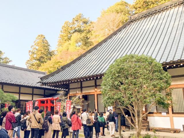 愛知県香積寺の本殿