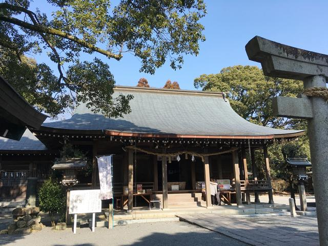 佐賀県千栗八幡宮の本殿