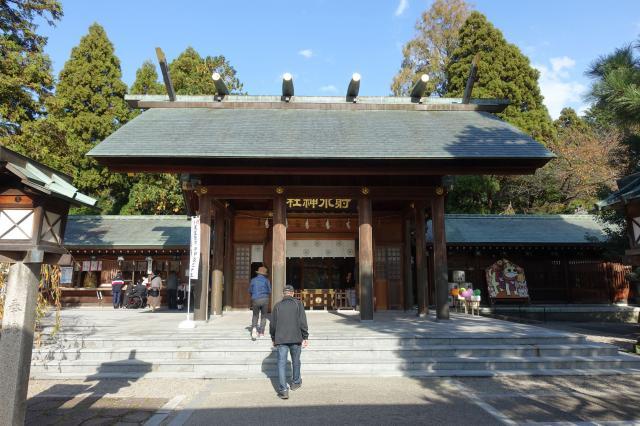 射水神社の本殿
