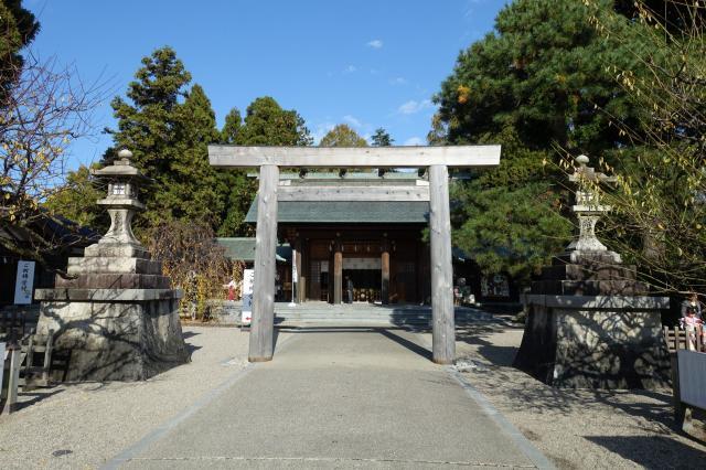 富山県射水神社の鳥居