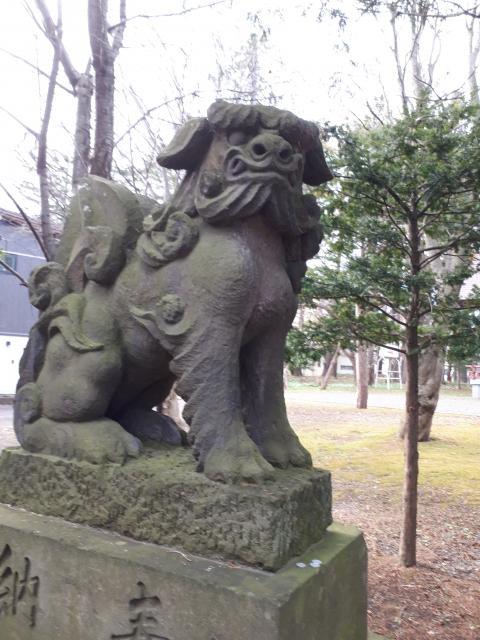 廣島神社の狛犬