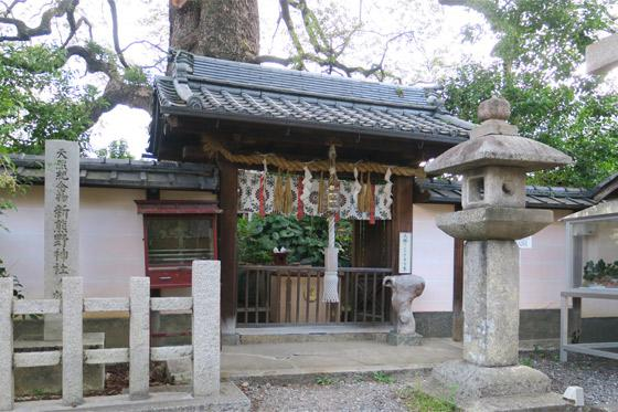京都府新熊野神社の本殿