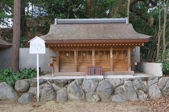 新熊野神社の末社