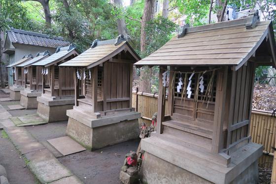 天祖神社の末社