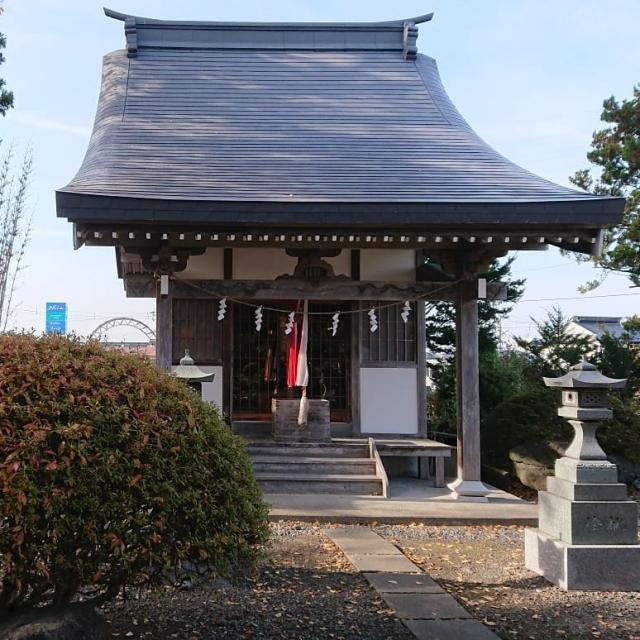 四本松神社の本殿