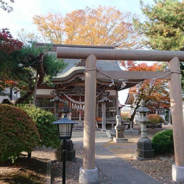四本松神社の鳥居
