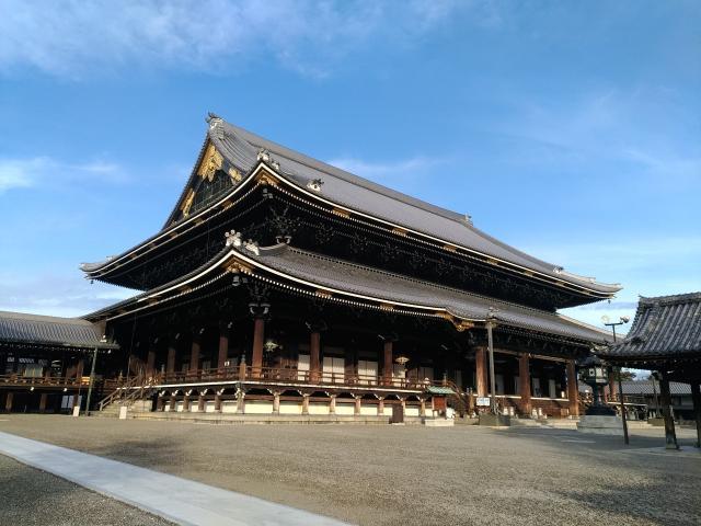 京都府東本願寺の本殿
