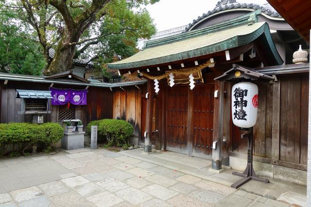石切劔箭神社の本殿