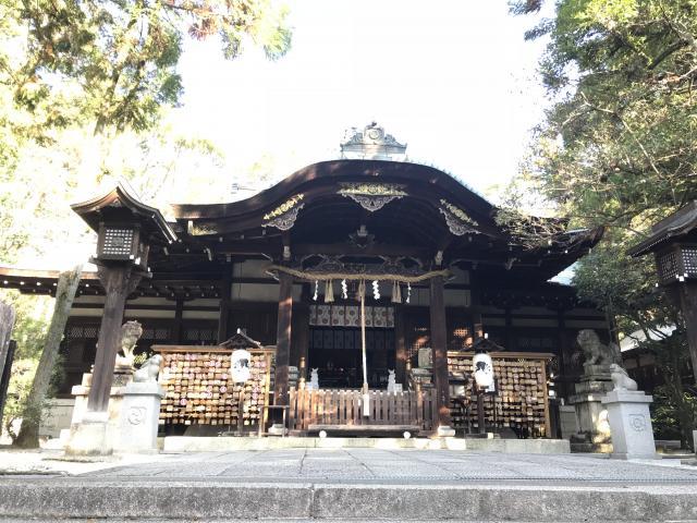 京都府岡崎神社の本殿