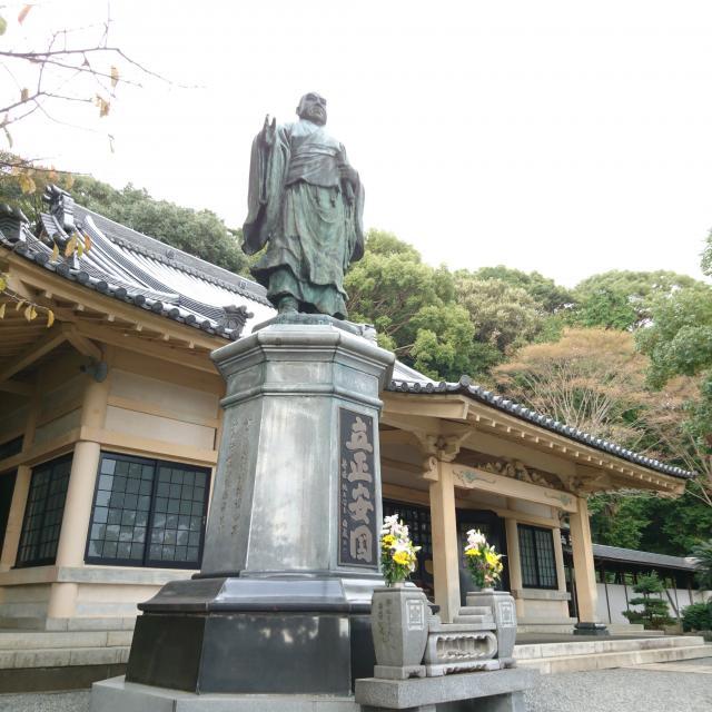 実相寺の像