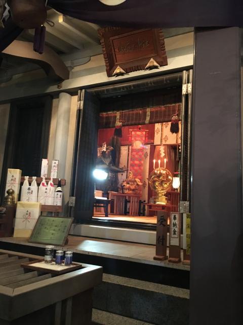 宮益御嶽神社の本殿