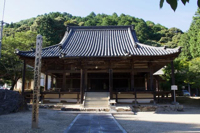 岡山県福生寺の本殿