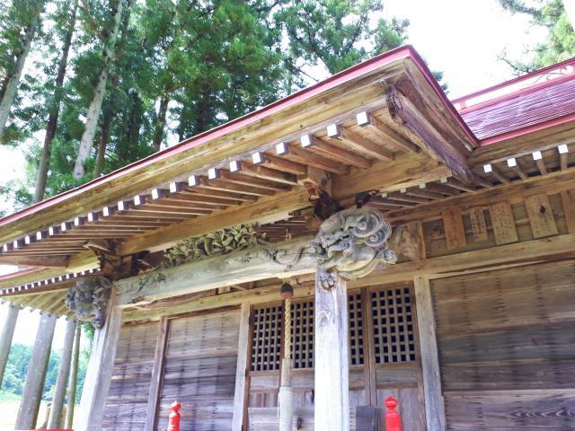 岩手県磐神社の本殿