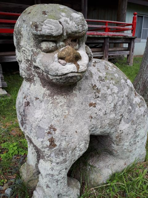 磐神社の狛犬
