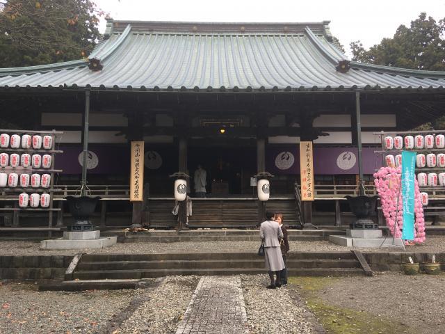 静岡県本門寺の本殿