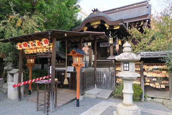 京都府菅原院天満宮神社の本殿