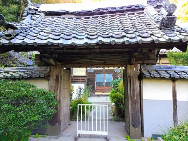 愛知県井際山 持宝院の山門