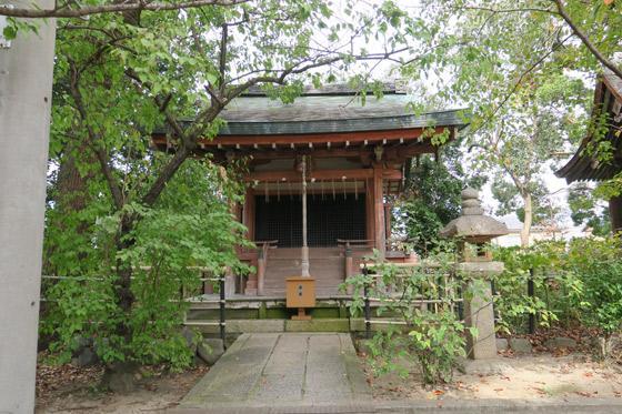 京都府藤森神社の本殿