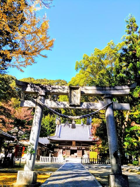 愛知県八幡神社松平東照宮の鳥居