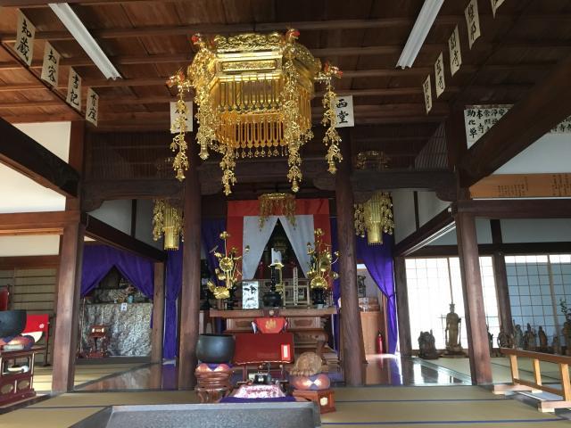 愛知県佛国山 神後院の本殿