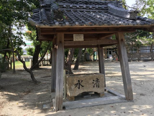 藤江神社の手水