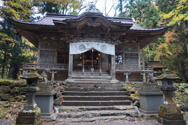 十和田神社の本殿