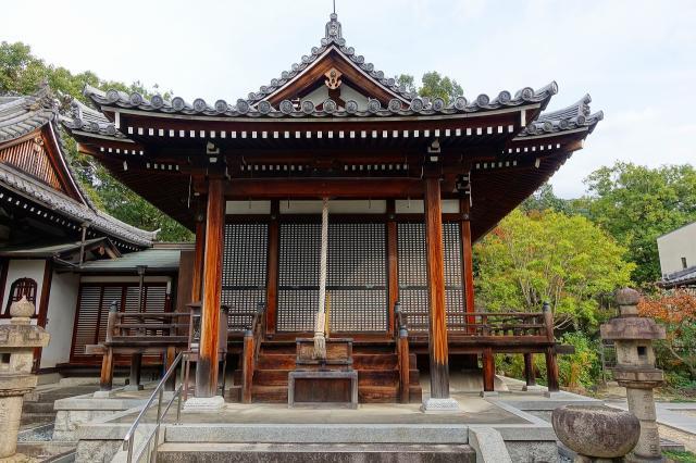 大阪府千手寺の本殿