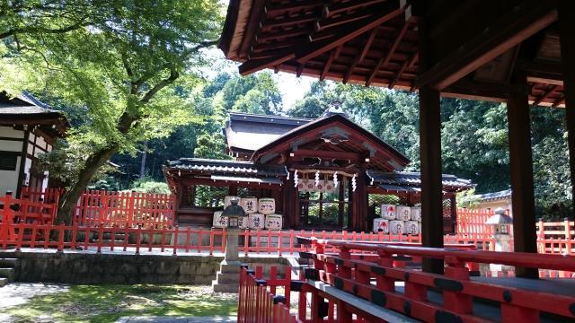 建勲神社の本殿