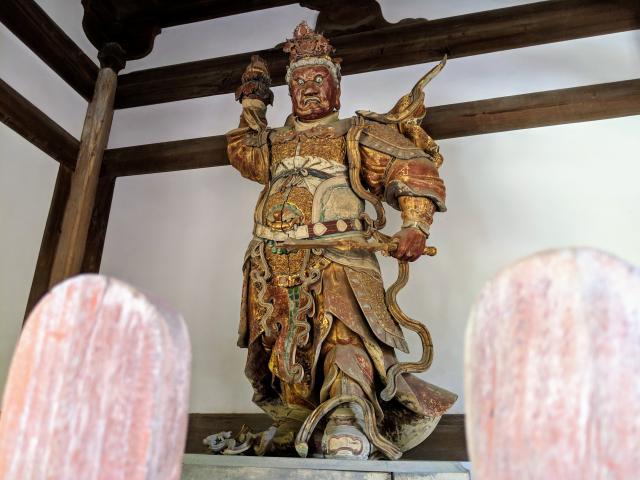 萬福寺の像
