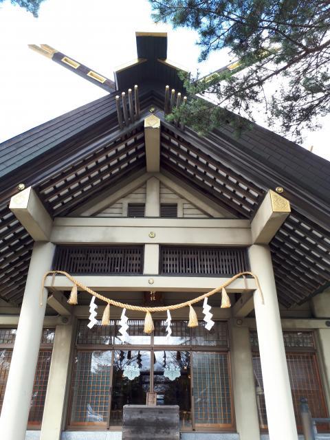 北海道江別神社の本殿