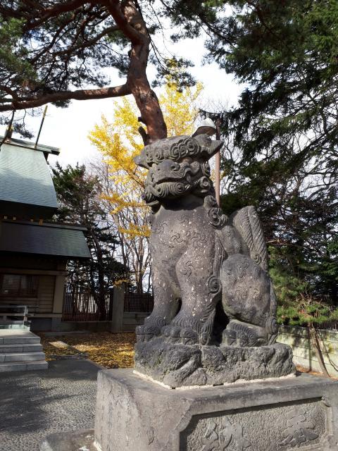 江別神社の狛犬