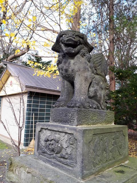 錦山天満宮の狛犬
