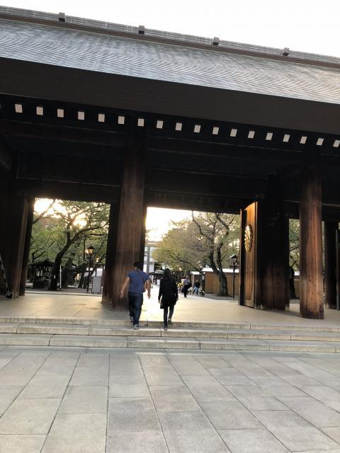 東京都靖国神社の本殿