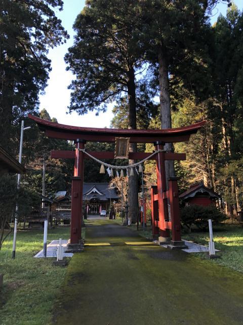 花松神社の鳥居