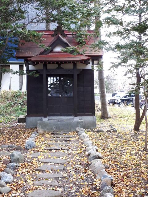 北海道大麻神社の本殿