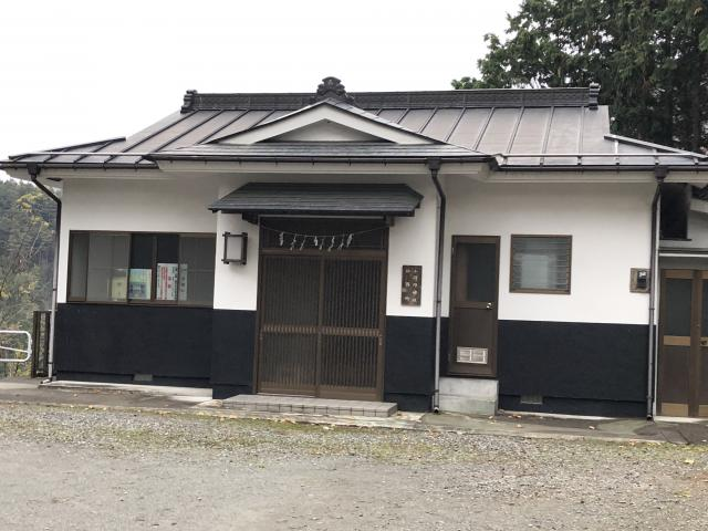 東京都小河内神社の建物その他